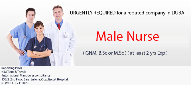 URGENTLY REQUIRED for a reputed company in DUBAI