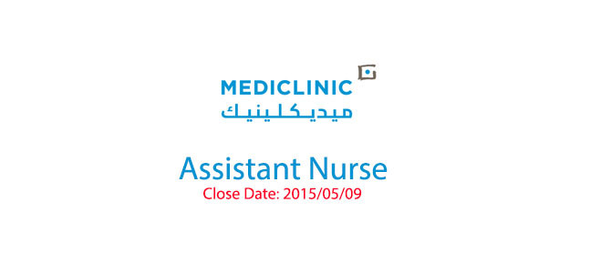 Assistant Nurse > Close Date: 2015/05/09
