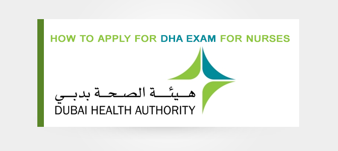 How to apply for DHA exam for nurses