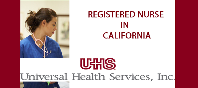 Registered Nurse  in   California