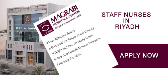 STAFF NURSES  IN  RIYADH