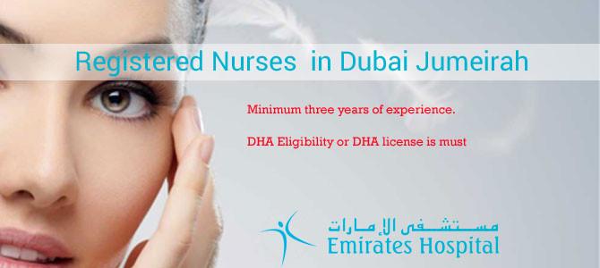 Registered Nurses  in Dubai Jumeirah