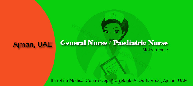 General / Paediatric Nurse in UAE