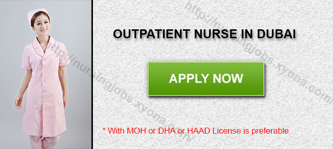 OUTPATIENT NURSE IN DUBAI
