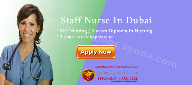 Staff Nurse In Thumbay Hospital Dubai