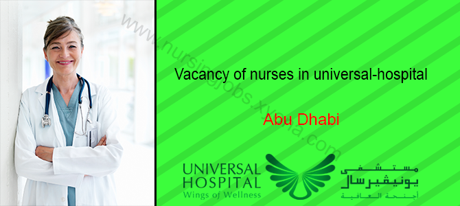 Registered Nurse In Universal Hospital Abu Dhabi