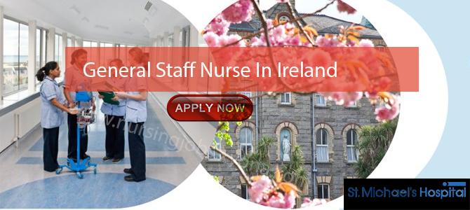 General Staff Nurse In  Ireland