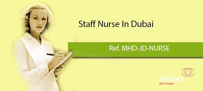 Staff Nurse Medeor Hospital,Dubai