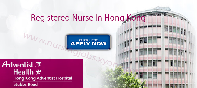 Registered Nurse In Hong Kong