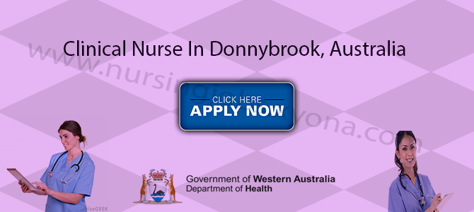Clinical Nurse In  Donnybrook, Australia