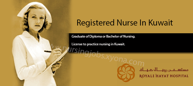 Registered Nurse In Royale Hayat Hospital Kuwait