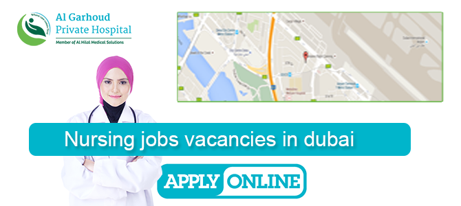 Nursing jobs vacancies in dubai,Al Garhoud Private Hospital