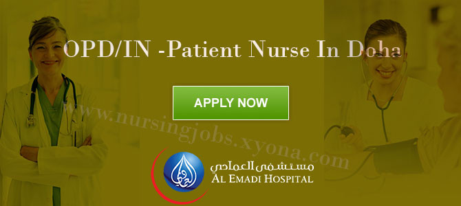 OPD/IN -Patient Nurse In Doha
