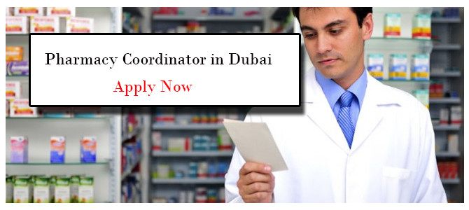 Pharmacy Coordinator in Dubai