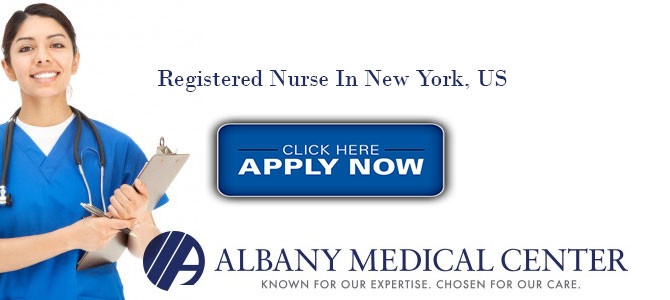 REGISTERED PROFESSIONAL NURSE IN ALBANY MEDICAL CENTER, New York, US