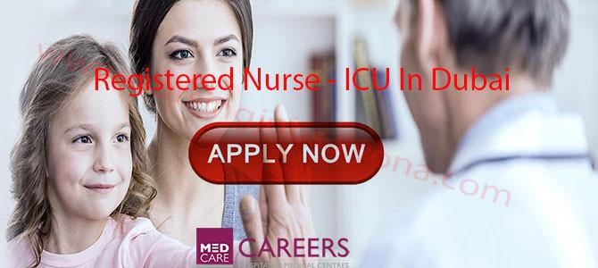 Registered Nurse – ICU In Medcare Hospital Dubai