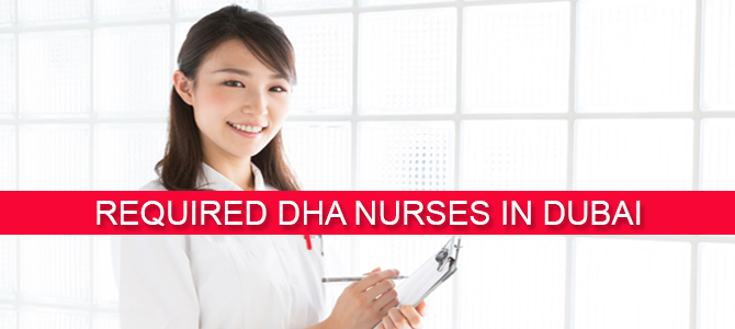 Required DHA nurses in Dubai